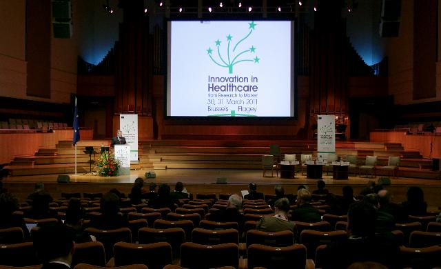 Innovation in Healthcare from Research to Market conference