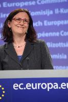 Press conference by Cecilia Malmström, Member of the EC, on the evaluation of the Data Retention Directive