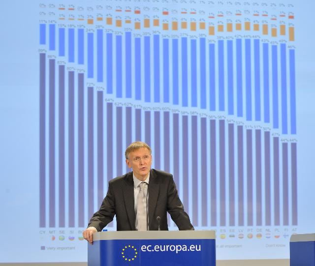 Press conference by Janez Potočnik, Member of the EC, on the