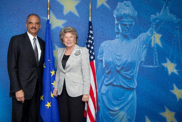 Visit of Eric Holder, US Attorney General, to the EC