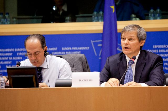 Présentation of the legislative proposals on the CAP reform by Dacian Cioloş, Member of the EC, at the EP
