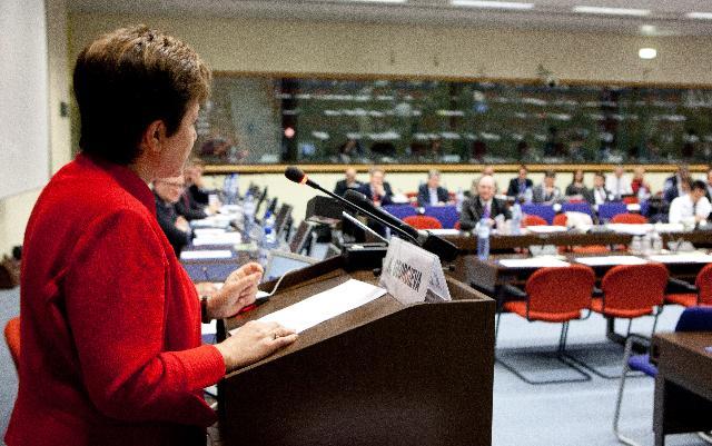 Discours de Kristalina Georgieva, membre de la CE, à la conférence Prévention et assurance des catastrophes naturelles