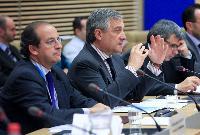 Participation d'Antonio Tajani et Michel Barnier, membres de la CE, au Forum sur le financement des PME 2011