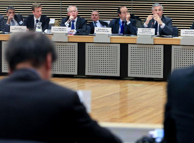 Participation of Antonio Tajani and Michel Barnier, Members of the EC, at the SME Finance Forum 2011