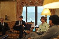 Visit of Catherine Ashton, Vice-President of the EC, to Pakistan