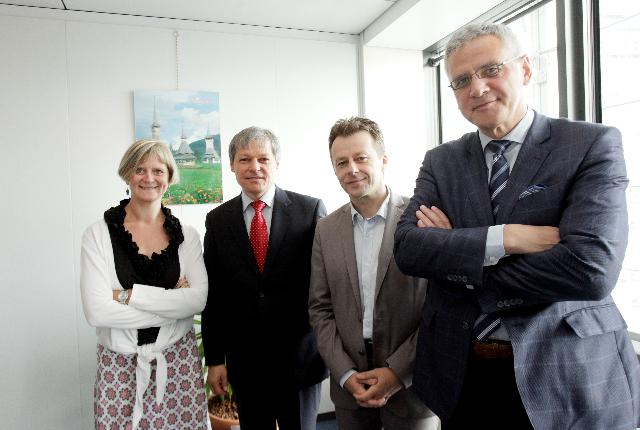 Visit of Belgian Ministers for Agriculture to the EC