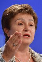 Conférence de presse de Kristalina Georgieva, membre de la CE, sur la proposition de la CE d'un règlement relatif à la création du Corps volontaire européen d'aide humanitaire