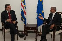 Visit of José Manuel Barroso, President of the EC, to Cape Verde