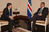 Visite de José Manuel Barroso, président de la CE, au Cap-Vert
