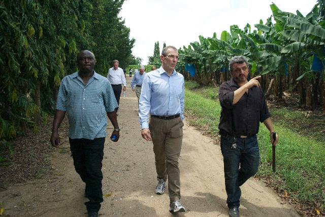 Visit of Andris Piebalgs, Member of the EC, to Ghana
