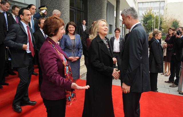 Visit of Catherine Ashton, Vice-President of the EC, to Kosovo