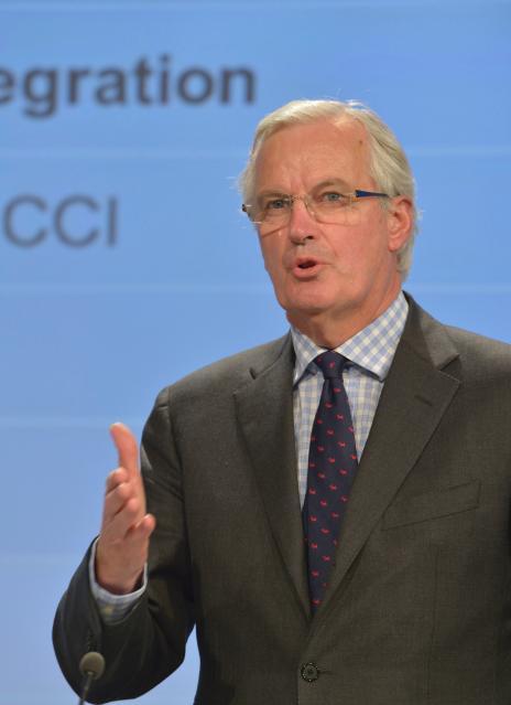 Conférence de presse conjointe de José Manuel Barroso, Olli Rehn et Michel Barnier sur le plan d'action pour l'Union économique et monétaire