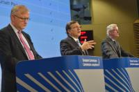 Joint press conference by José Manuel Barroso, Olli Rehn and Michel Barnier on the blueprint for Economic and Monetary Union