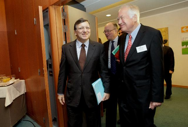 Participation of José Manuel Barroso, President of the EC, in the 100th meeting of the Kangaroo Group