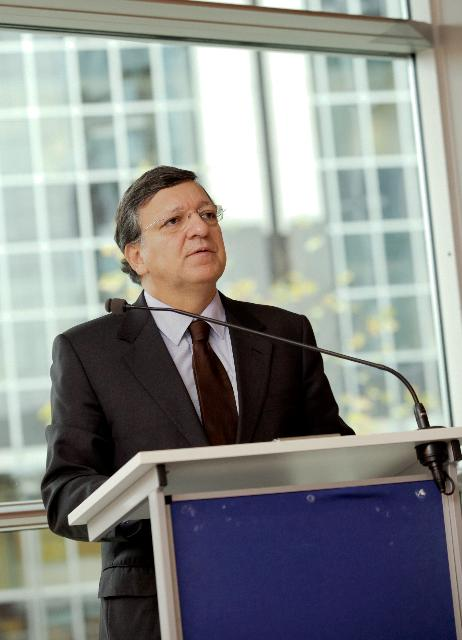Participation de José Manuel Barroso, président de la CE, à la 100e réunion du Groupe Kangaroo