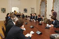 Meeting between Algirdas Šemeta, Member of the EC, and a group of senior editors of Lithuanian press, news agencies and television channels