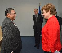 Visit of U Wunna Maung Lwin, Minister for Foreign Affairs of Burma/Myanmar, to the EC