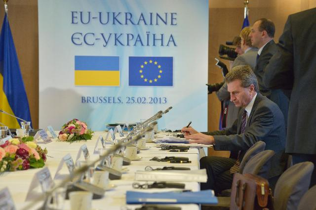 EU/Ukraine Summit, 25/02/2013