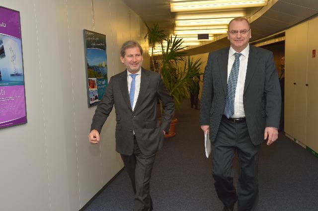 Visit of Ľubomír Vážny, Slovak Deputy Prime Minister for Investment, to the EC