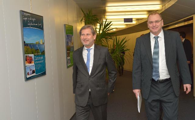 Visite de Ľubomír Vážny, vice-Premier ministre slovaque chargé de l'Investissement, à la CE