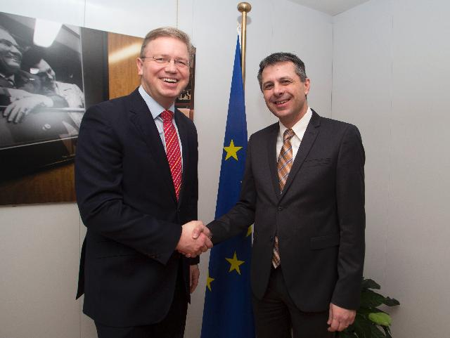 Visit of Igor Radojičić, President of the National Assembly of Republika Srpska, to the EC