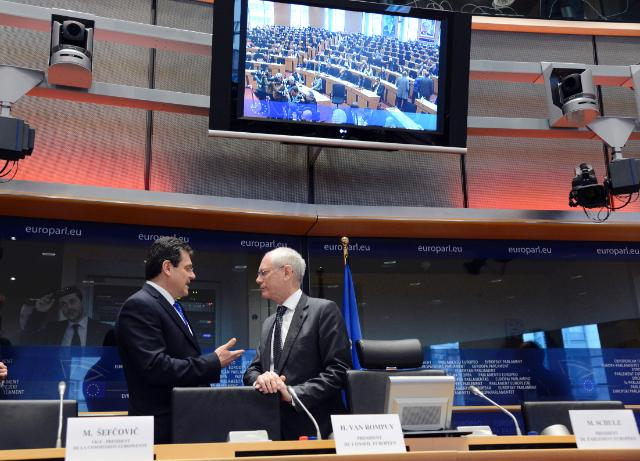 Participation of Maroš Šefčovič, Vice-President of the EC, at the Open Conference of Presidents in the EP
