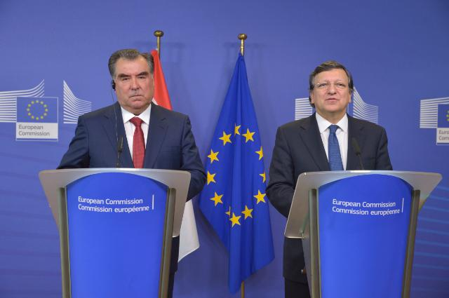 Visit of Emomali Rahmon, President of Tajikistan, to the EC
