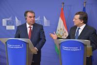 Visit of Emomali Rahmon, President of Tajikistan, to the EC