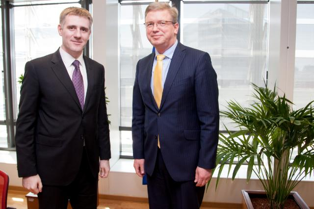 Visit of Igor Lukšić, Montenegrin Deputy Prime Minister, Minister for Foreign Affairs and European Integration, to the EC