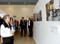 Opening of the photo exhibition on the humanitarian aid brought by the DG ECHO of the EC and the WFP to the victims of hunger in Asia, Africa, Middle-East and Haiti