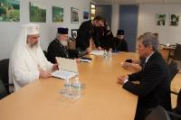 Visit of Daniel, Patriarch of the Romanian Orthodox Church, to the EC