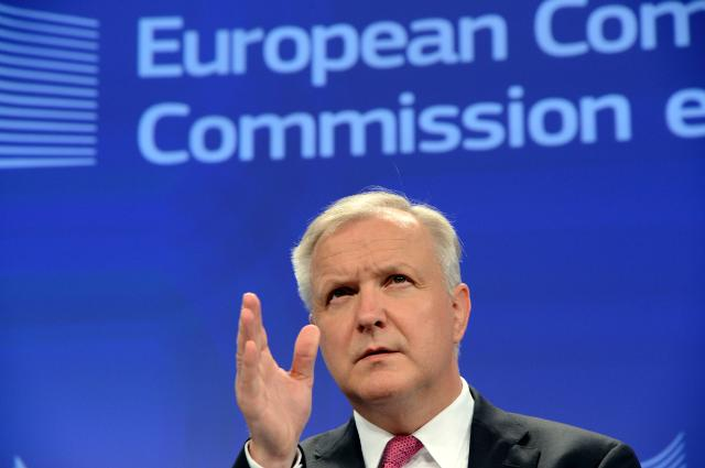 Press conference by Olli Rehn, Vice-President of the EC, on the 2013 Convergence Report on Latvia