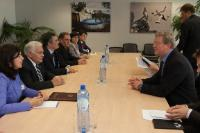 Visit of Ogtay Asadov, Chairman of the National Assembly of Azerbaijan, to the EC