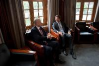 Visit of Olli Rehn, Vice-President of the EC, to the Netherlands