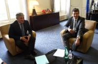Joint press conference by Antonio Tajani, Vice-President of the EC, and Arnaud Montebourg, French Minister for Productive Recovery, after their discussion on the issues at stakes in the European industrial policy