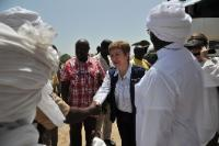 Visit of Kristalina Georgieva, Member of the EC, to Chad
