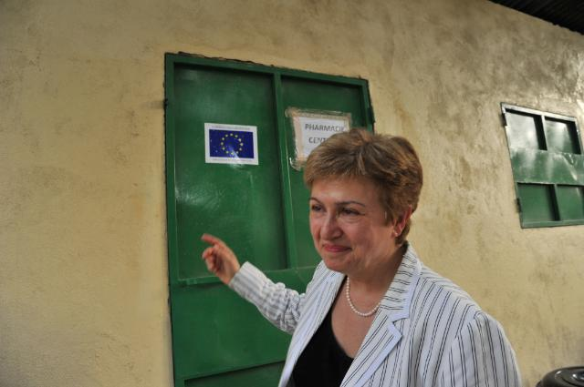Visit of Kristalina Georgieva, Member of the EC, to Chad