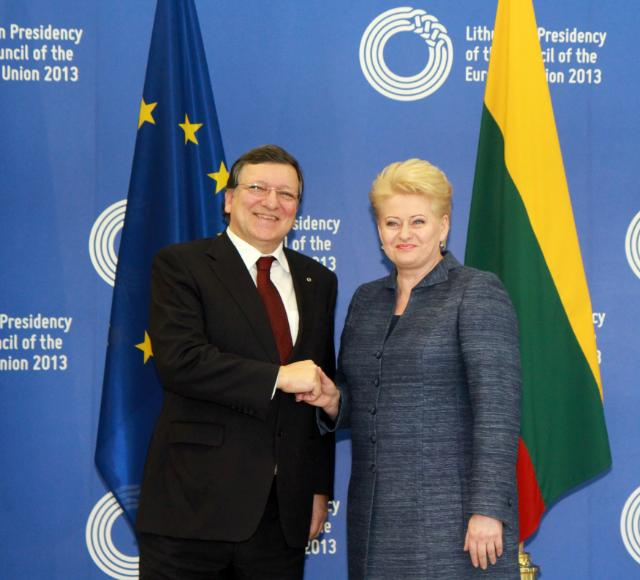 Inaugural meeting of the Lithuanian Presidency of the Council of the EU with the EC