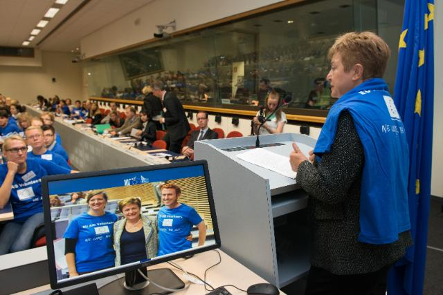Participation of Kristalina Georgieva, Member of the EC, at the European Voluntary Humanitarian Aid Corps Conference