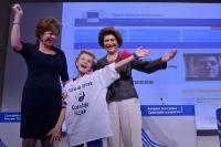 Joint press conference by Neelie Kroes and Androulla Vassiliou on the launch of the