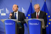 Visit of Pierre Moscovici, French Minister for Economy and Finances, to the EC