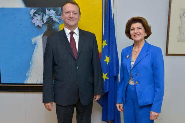 Visit of Duško Lopandić, Head of the Mission of Serbia to the EU, to the EC