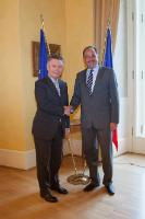 Visit of Karel De Gucht, Member of the EC, to Czech Republic
