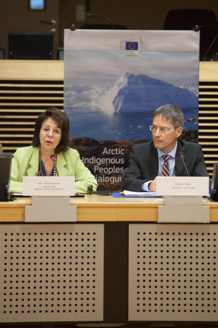 Participation of Maria Damanaki, Member of the EC, in the Arctic Indigenous peoples dialogue conference