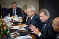 Participation of Johannes Hahn, Member of the EC, in the 2nd Annual Forum 'Danube Region - stronger together, stronger in the world', organised  in Bucharest