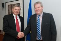 Visit of Sigurður Ingi Jóhannsson, Icelandic Minister for Fisheries and Agriculture, and Minister for the Environment and Natural Resources, to the EC