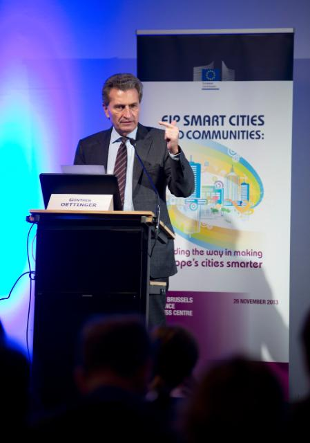 Conference 'EIP Smart Cities and Communities: Leading the Way in Making Europe's Cities Smarter'