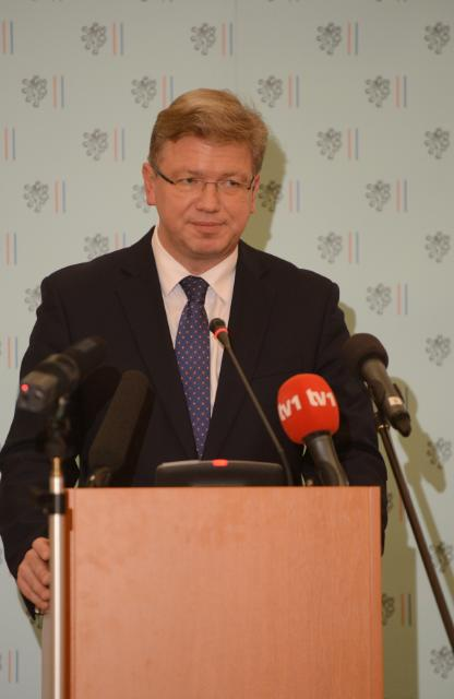 Participation of Štefan Füle, Member of the EC, at a EU/ Bosnia and Herzegovina on the Sejdić-Finci case, in Prague