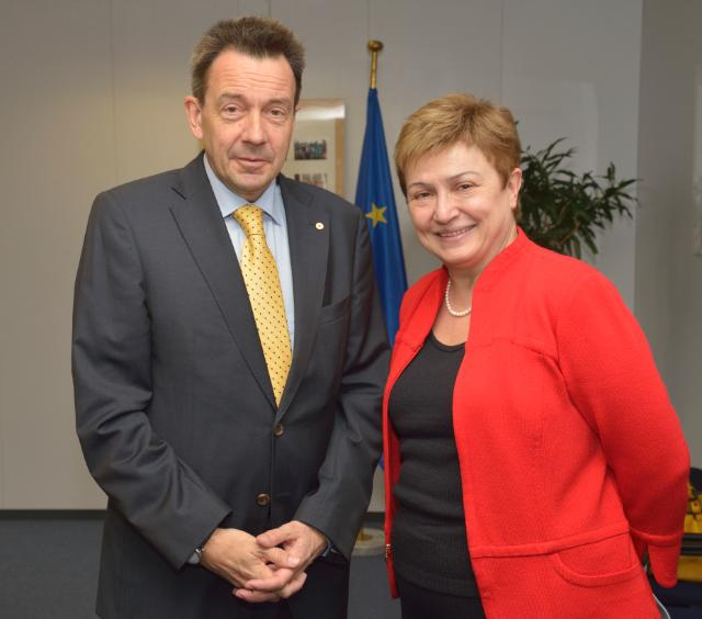 Visit of Peter Maurer, President of the International Committee of the Red Cross, to the EC