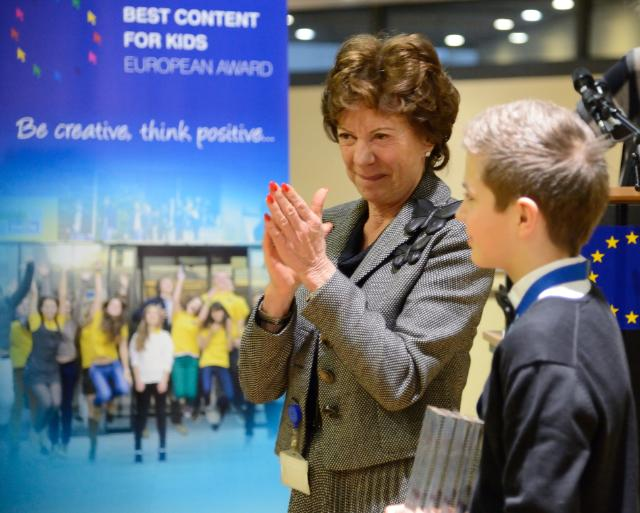 Participation of Neelie Kroes, Vice-President of the EC, in events celebrating the Global Safer Internet Day 2014